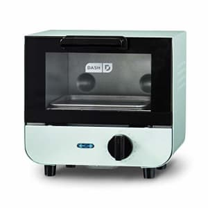 Dash DMTO100GBAQ04 Mini Toaster Oven Cooker for Bread, Bagels, Cookies, Pizza, Paninis & More with for $40