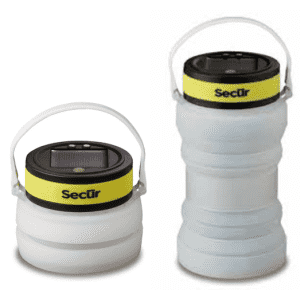 Secur Collapsible Solar Powered Bottle Lantern for $17
