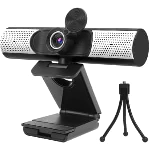 AirCover USB Webcam with Privacy Cover & Tripod for $57