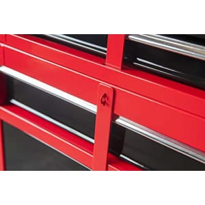 BIG RED ATBT1204R-RB Torin Rolling Garage Workshop Tool Organizer: Detachable 4 Drawer Tool Chest for $148