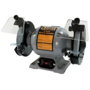 Buffalo Tools BG6UL 6In Bench Grinder, Silver for $87