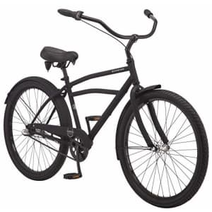 Schwinn Huron Adult Beach Cruiser Bike, Featuring 17-Inch/Medium Steel Step-Over Frames, 3-Speed for $580