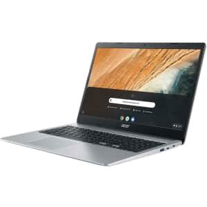"Acer Chromebook 315 Celeron Gemini Lake Refresh 15.6"" Touch Laptop for $230"