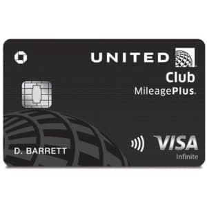 United Club℠ Infinite Card: Earn 75,000 bonus miles