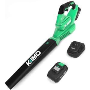 Kimo 20V Cordless Blower for $80