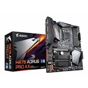 Gigabyte H470 AORUS PRO AX (LGA1200/INTEL/H470/ATX/SATA 6Gb/s/USB3.2 Gen 2/WiFi 6/2.5 GbE for $278