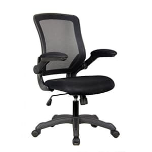 Techni Mobili Mesh Task Office Chair with Flip Up Arms. Color: Black for $111