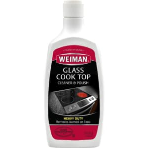 Weiman Glass Cooktop 20-oz. Cleaner and Polish for $5