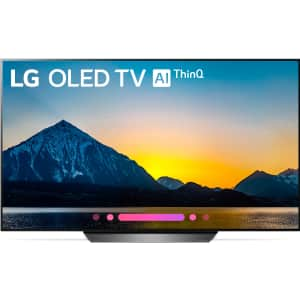 """LG B8 Series 65"""" 4K HDR OLED UHD Smart TV w/ AI ThinQ for $1,497 w/ $150 Dell gift card"""