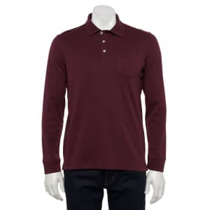 Croft & Barrow Men's Easy-Care Polo Shirt for $7