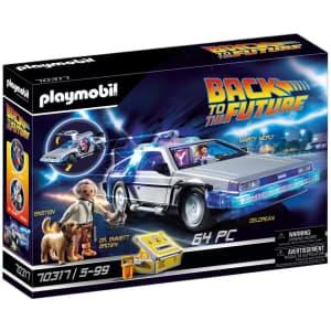 Playmobil Back to The Future Delorean for $40