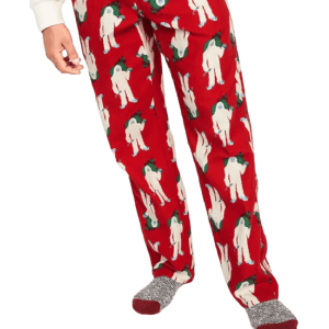Old Navy Men's Monster Flannel Pajama Pants for $4.17 in cart
