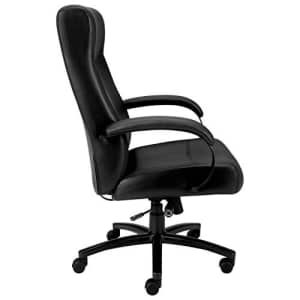HON Validate Big and Tall Executive Chair - Leather Computer Chair for Office Desk, Black (HVL685) for $623