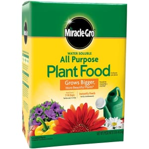Miracle-Gro 10-lb. Water Soluble All Purpose Plant Food for $20