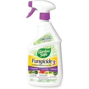 Garden Safe Brand Fungicide3 24-oz. Bottle for $5