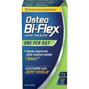 Osteo Bi-Flex Joint Health 60-Count Coated Tablets for $6.78 via Sub & Save