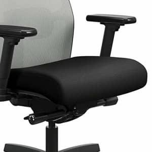 HON Ignition 2.0 Mid-Back Adjustable Lumbar Work Fog Mesh Computer Chair for Office Desk (Black for $422