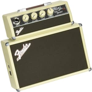 Fender Mini Tonemaster Battery-Powered Electric Guitar Amp for $32