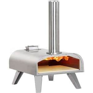 Big Horn Outdoors Wood Pellet Pizza Oven for $200
