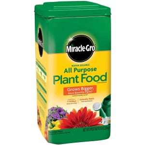 Miracle-Gro Water Soluble All Purpose Plant Food for $9