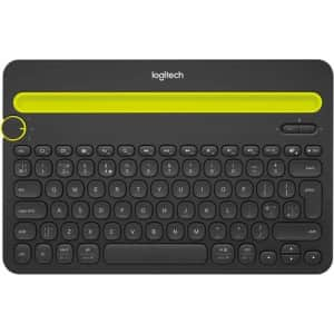 Logitech K480 Bluetooth Multidevice Keyboard for $35