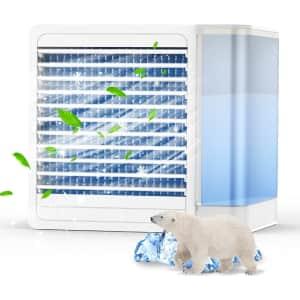 Ocrouki Mini Air Conditioner for $27