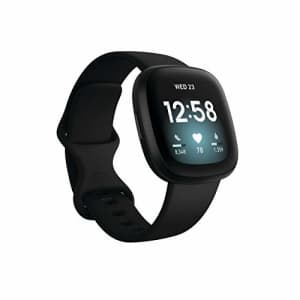 Fitbit Versa 3 Health & Fitness Smartwatch with GPS, Alexa Built-in, 24/7 Heart Rate, Alexa for $229