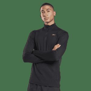 Reebok Men's Running Essentials Quarter-Zip Top for $22