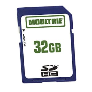 Moultrie SD Memory Card, 32GB, White (MCA-12603) for $25