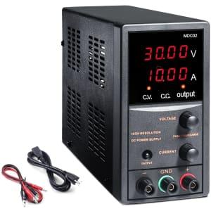Ttkk 30V 10A Adjustable Switching Regulated Power Supply for $100