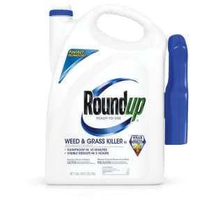 Roundup Ready-to-Use Weed and Grass Killer III 1-Gallon Spray for $11 for members