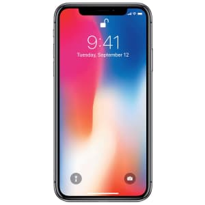 Apple iPhone X 256GB GSM Smartphone for $335