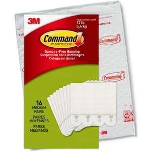 Command Indoor Use Picture Hanging Strips 32-Pack for $17