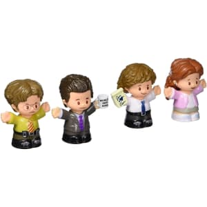 Fisher-Price Little People Collector The Office Figure Set for $15