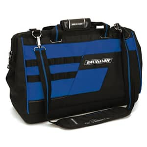 """Vaughan - 20"""" Wide Mouth Tool Bag, Workspace Organization, Tool Storage - Tools, Tool Storage - for $50"""