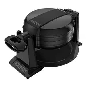 Black + Decker Double Flip Rotating Belgian Waffle Maker for $43