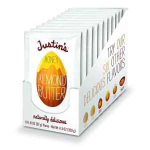 Justin's Almond or Hazelnut Butter at Amazon: extra 30% off via Sub & Save