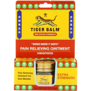 Tiger Balm Extra Strength Pain Relieving Ointment 0.63-oz. for $4.55 via Sub & Save