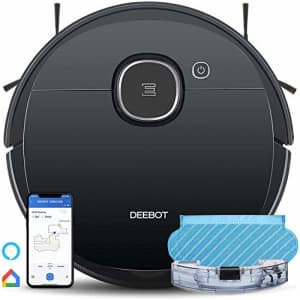 Ecovacs DEEBOT OZMO 920 2in1 Mopping Robotic Vacuum with Laser Navigation, No-Go Zones, Systematic for $550