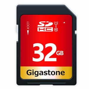 Gigastone 32 GB SDHC for $18