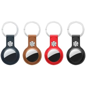 Gado Keychain Case 4-Pack for Apple AirTag for $9
