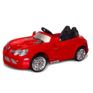 FAO Schwarz Mercedes Ride-on Vehicle for $250