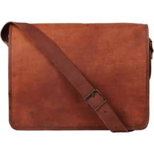 Leather Journals and Bags at Amazon: Up to 35% off
