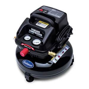 Eastwood 3 Gallon Oil Less Pancake Portable Air Compressor Certified New Oil-Free for $137