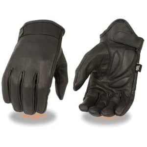 Milwaukee Leather Men's Gel Palm Leather Gloves for $25