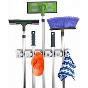 Home-It Mop and Broom Holder for $19