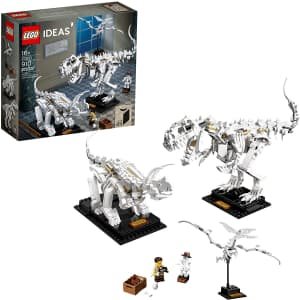 LEGO Ideas Dinosaur Fossils Building Kit for $55