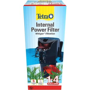 Tetra Whisper 4-Gallon Aquarium Internal Power Filter for $11