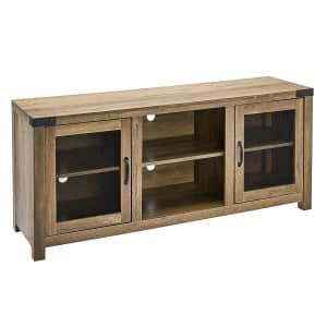 """Rockpoint 58"""" TV Stand Media Console for $125"""