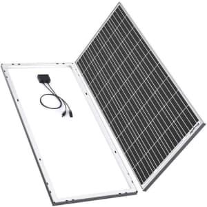 BougeRV 180 Watts 12V 18V Solar Cell Charger for $170